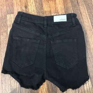 Carmar Denim Black Jean Shorts Size 24 - WORN ONCE